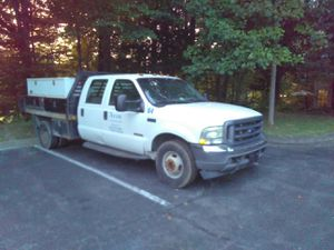 2004 Ford F350 crew cab powerstroke diesel utility flatbed for Sale in Fairfax, VA