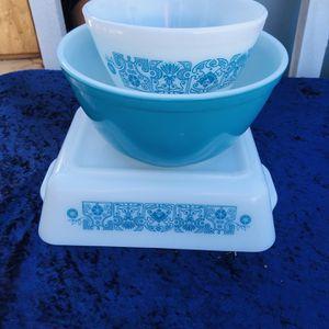 VINTAGE PYREX 'BLUE HORIZON' Lot for Sale in Oceanside, CA