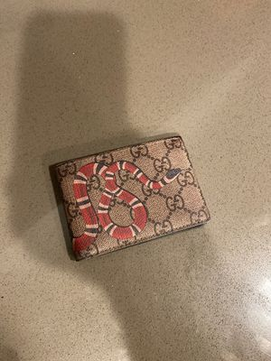Gucci king snake wallet for Sale in Los Angeles, CA