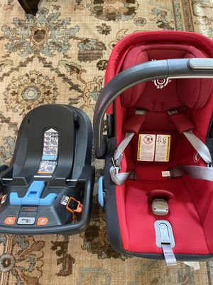 Uppababy car seat & base for Sale in Greensboro, NC