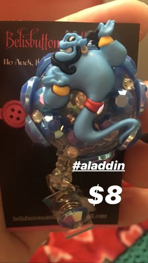 Aladdin id Badge Holder for work for Sale in Bakersfield, CA