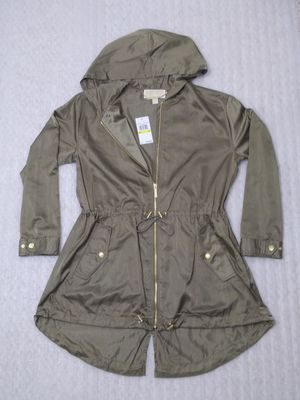 Michael Kors rain jacket. Size M women's. Green. Brand new in box. Retail $160 for Sale in Portsmouth, VA