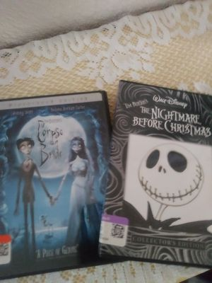 Nightmare before Christmas and Corpse bride for Sale in Phoenix, AZ