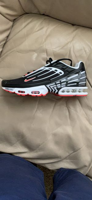 Nike Air Max Plus 3 Track Red Shoes for Sale in El Paso, TX