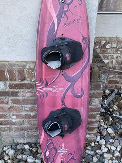 Wakeboard Hydroslide Backdraft Red Wakeboard 142 cm for Sale in Woodland,  CA