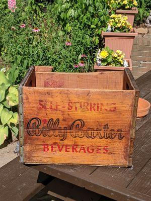 Billy Baxter Bottles Crate for Sale in Oakmont, PA