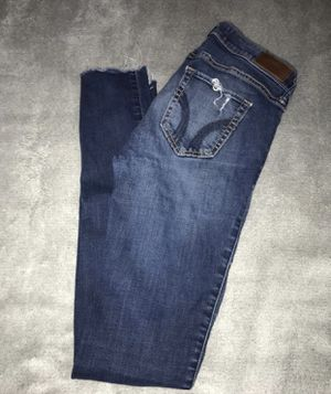 hollister jeans size 3L low rise, super skinny for Sale in Stockton, CA