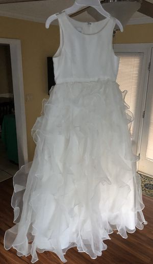 Girls Wedding Dress for Sale in Brentwood, NC