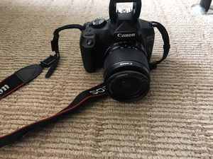Canon E0S Rebel T6 for Sale in Minneapolis, MN