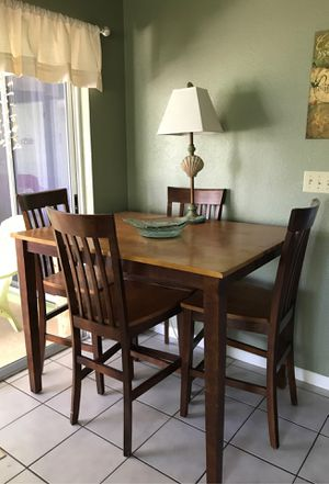 Solid real wood kitchen table for Sale in Boca Raton, FL