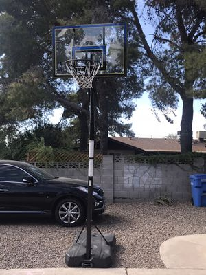 Spalding Adjustable Basketball Hoop for Sale in Phoenix, AZ
