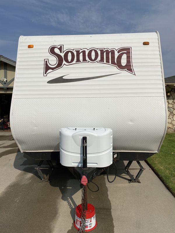 2008 Sonoma Thor 19FQ Travel Trailer