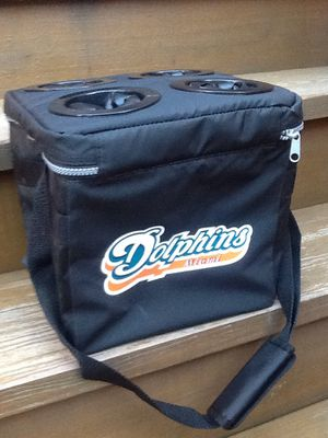 Miami Dolphins / Miller Lite 6-Pack Collapsible Cooler Bag - 2001 - Brand New for Sale in Chicago, IL