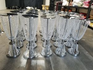 Brand New Gold & Silver Crystal Centerpieces for Sale in San Marcos, CA