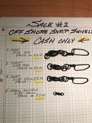 LOOK!!! Snap Swivels : 3 sizes + .. sale in OC Maryland for Sale in Gerrardstown, WV