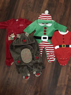 Christmas Baby clothes 6-9 months for Sale in Alexandria, VA