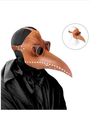 Plague Doctor Mask Long Nose Bird Beak for Sale in Hialeah, FL