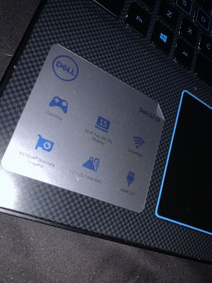 Dell G3 15 gaming laptop 800ram for Sale in Fort Washington, MD