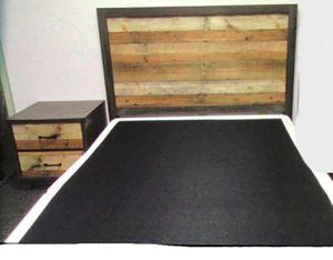 New!! Queen Bed, Bedroom,2 Drawer Nightstand,Furniture,Bed,Nightstand,2Pc Bed Set-QUEEN SIZE for Sale in Phoenix, AZ