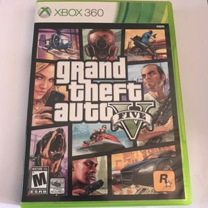Grand theft auto 5 Xbox 360 game for Sale in Severna Park, MD