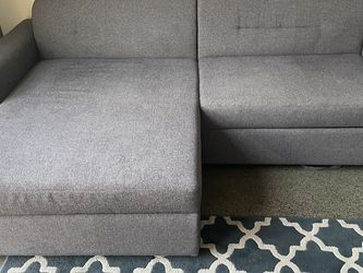 93' Couch With Storage Chaise for Sale in Fairfax,  VA