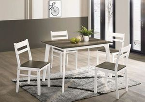 Debbie II 5 Pc. Dining Table Set $249.00! Hot buy! In stock! Free delivery for Sale in Ontario, CA