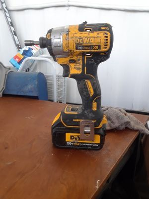Dewalt impact drill with big battery $60 for Sale in Las Vegas, NV