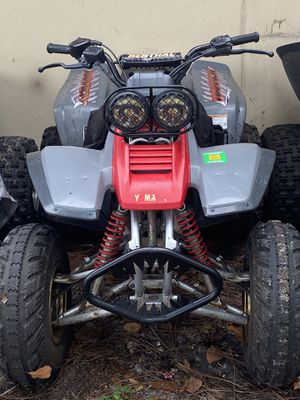96 Yamaha warrior 350 w title for Sale in Hollywood, FL