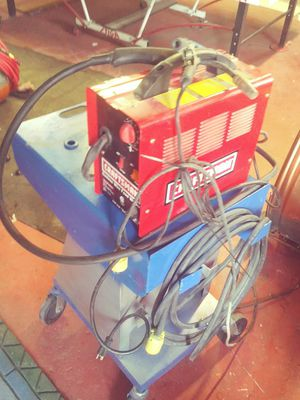 Welder.and cart for Sale in Saint Charles, MO