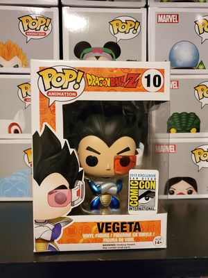 Dragon Ball Z Metallic Vegeta SDCC Exclusive AUTHENTIC for Sale in North Bergen, NJ