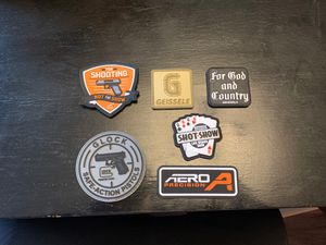 Shot Show Velcro morale patches set of 6 for Sale in Las Vegas, NV