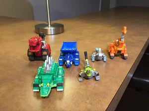 DynoTrux Bundle die cast metal toys, set of 6. for Sale in McLean, VA