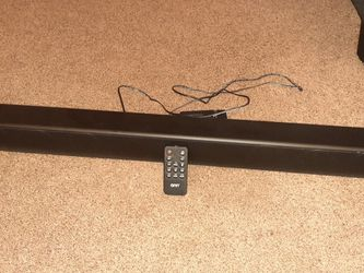 Onn Sound bar With Original Remote for Sale in Forest Grove,  OR