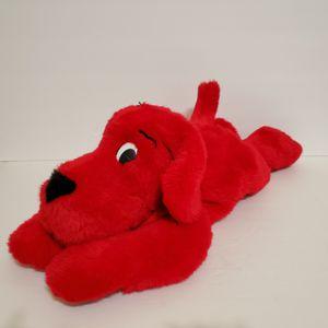 "Clifford The Big Red Dog 20"" Stuffed Animal Plush Scholastic Side Kicks Floppy for Sale in La Grange Park, IL"
