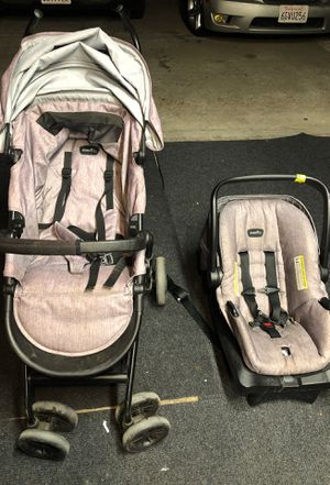 Even Flo car seat and stroller for Sale in Antioch, CA