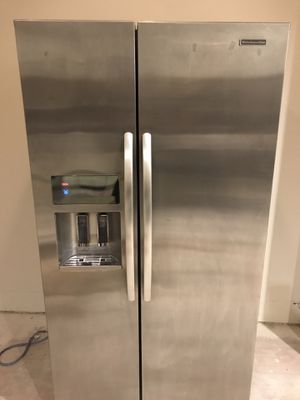 Refrigerator - KitchenAid side-by-side Stainless for Sale in Gig Harbor, WA
