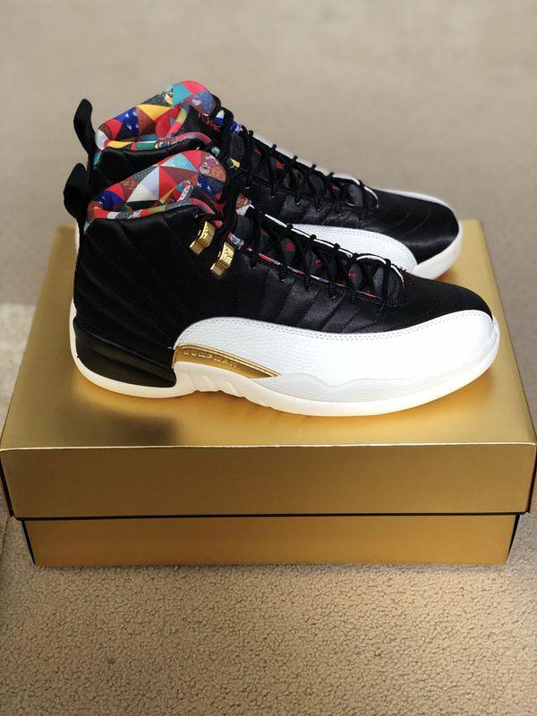 Jordan 12 CNY size 9.5