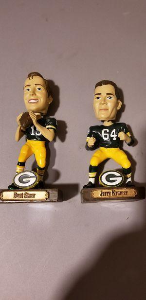 2 mini Packers bobbleheads for Sale for sale  Monroe Township, NJ