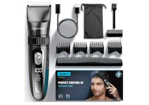 DynaBliss Hair Clippers for Men Professional,Cordless Clippers for Hair Cutting kit Electric Mens clipper for Barbers with LED Display for Sale in Rancho Cucamonga, CA