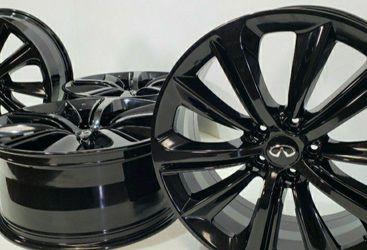 "20"" INFINITI Red Sport Q60 Q50 M56 Factory OEM Rims Wheels Black infinity Square for Sale in Long Beach,  CA"