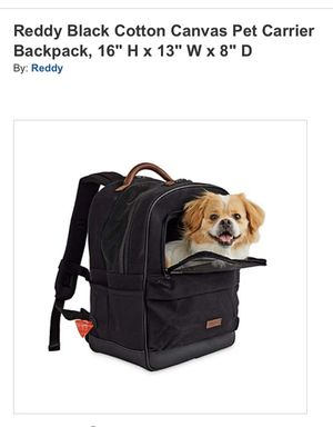 Dog backpack carrier for Sale in Mission Viejo, CA