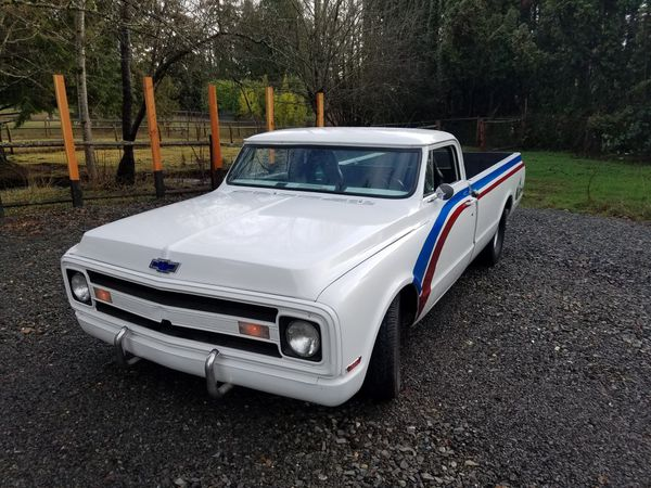 1970 c10 custom muscle truck