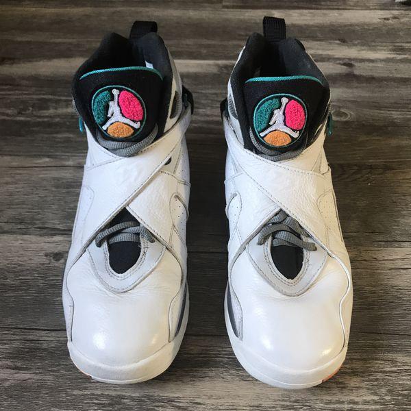 Air Jordan 8 Retro GS 'South Beach'