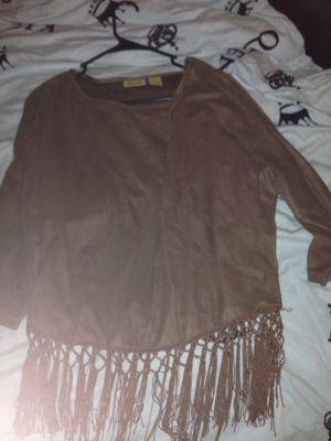 Fringed shirt for Sale in Spokane, WA