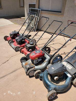 Five lawn mowers for Sale in Phoenix, AZ