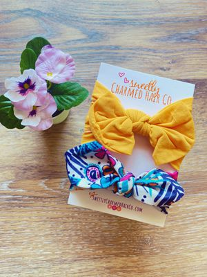 Toddler Girls Bow Headband Set for Sale in Avondale, AZ