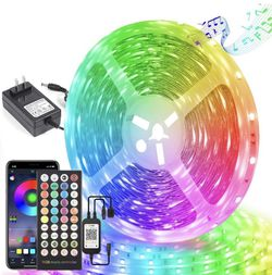 BLUETOOTH LED STRIP LIGHTS 65ft! for Sale in Dubuque,  IA