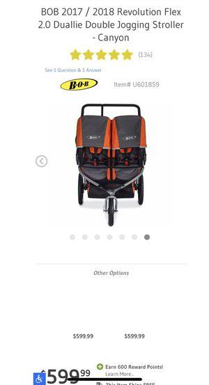 Revolution Bob Double Stroller for Sale in Darien, CT