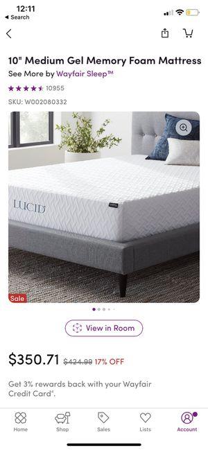"Brand new! Still in box! Queen 10"" memory gel foam mattress! for Sale in Avon, CT"