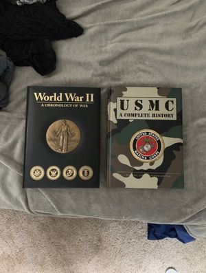 USMC WW2 history books for Sale in Appleton, WI